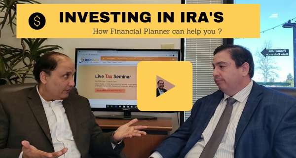 Sanjiv ask a Financial Planner for some tips on investing in IRA accounts