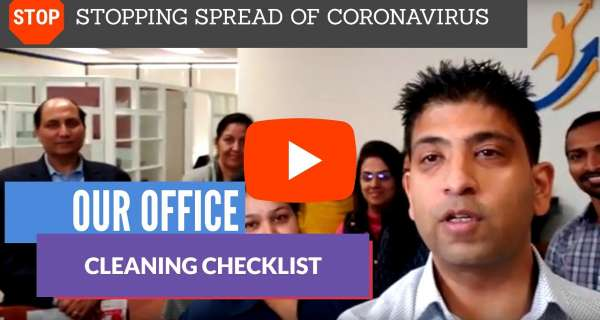Stopping the spread of Coronavirus - Our cleaning checklist