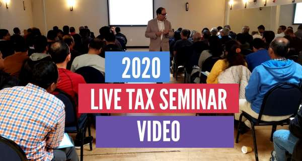 2020 Live Tax Seminar Video/Pictures