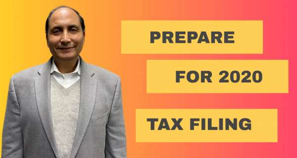 2020 Tax Filing Preparation