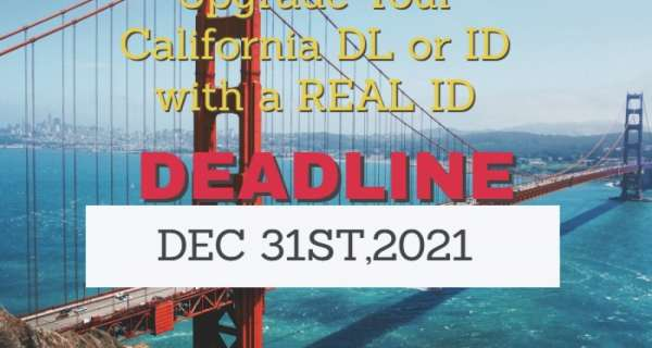 Upgrade To REAL ID for FREE - Apply Now