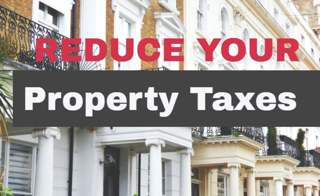 Property Assessment Appeals can reduce your property taxes